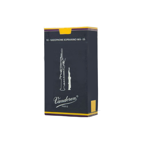 Vandoren Traditional Sopranino Saxophone Reed, Strength 2, Box of 10