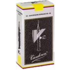 Vandoren V12 Soprano Saxophone Reed, Strength 3, Box of 10