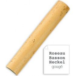 Vandoren Gouged & Shaped Cane for Bassoon, Box of 10