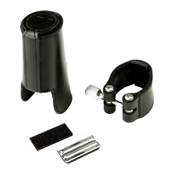 Vandoren Leather Ligature and Mouthpiece Cap for Bb Clarinet