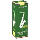 Vandoren Java Green Tenor Saxophone Reed, Strength 5, Box of 5