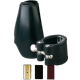 Vandoren Leather Ligature and Mouthpiece Cap for Soprano Saxophone