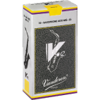 Vandoren V12 Alto Saxophone Reed, Strength 2.5, Box of 10