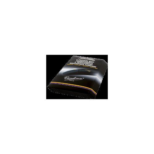 Vandoren 6-Pack Clear Mouthpiece Cushions, 0.35mm, Box of 10