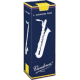 Vandoren Traditional Bass Saxophone Reed, Strength 3, Box of 5
