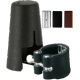 Vandoren Leather Ligature and Plastic Mouthpiece Cap for Soprano Saxophone