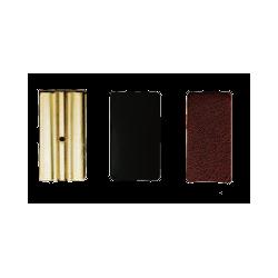 Vandoren Leather Pressure Plates for Eb Clarinet, Box of 3