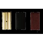 Vandoren Leather Pressure Plates for Alto Clarinet, Box of 3
