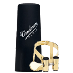 Vandoren M/O Gold-plated Ligature for Baritone Saxophone
