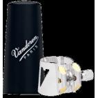 Vandoren Optimum Ligature and Plastic Mouthpiece Cap for Eb Clarinet