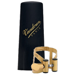 Vandoren M/O Old Gold Ligature for Soprano Saxophone
