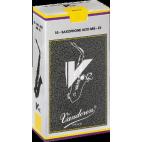 Vandoren V12 Alto Saxophone Reed, Strength 4, Box of 10