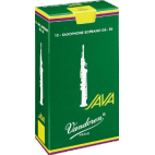 Vandoren Java Soprano Saxophone Reed, Strength 3, Box of 10