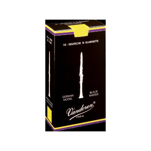 Vandoren Austrian Black Master Clarinet Reed, Strength 3, Box of 10