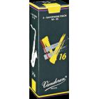 Vandoren V16 Tenor Saxophone Reed, Strength 3, Box of 5