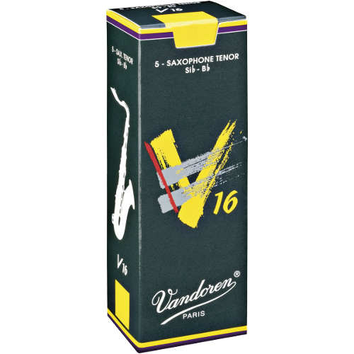 Vandoren V16 Tenor Saxophone Reed, Strength 4, Box of 5