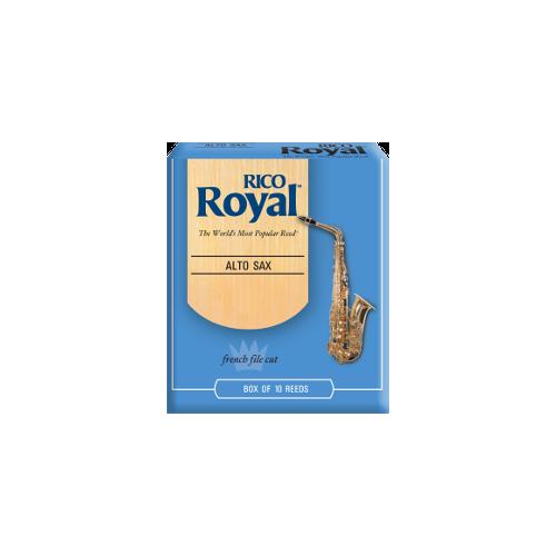 Rico Royal Eb Alto Saxophone Reed, Strength 2, Box of 10