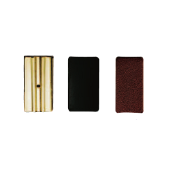 Vandoren Leather Ligature Pressure Plates for Bass Clarinet, Box of 3