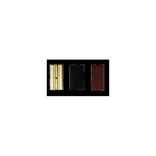Vandoren Leather Ligature Pressure Plates for German Bb Clarinet, Box of 3