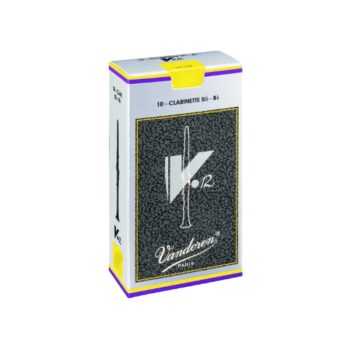 Vandoren v12 Bb Clarinet Reed, Strength 2.5, Box of 10
