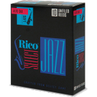 D'Addario Select Jazz Alto Saxophone Reed, Strength 4 (Soft), Unfiled, Box of 10