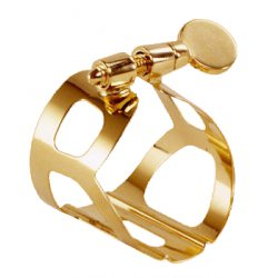 BG Tradition Gold Plated Ligature for Soprano Saxophone