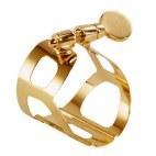BG Tradition Gold Plated Ligature for Soprano Saxophone