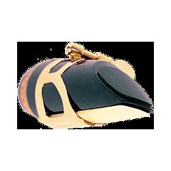 BG Black Mouthpiece Cushions, 0.8mm x6