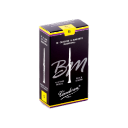 Vandoren Tradition Austrian Black Master Clarinet Reed Strength 5, Box of 10
