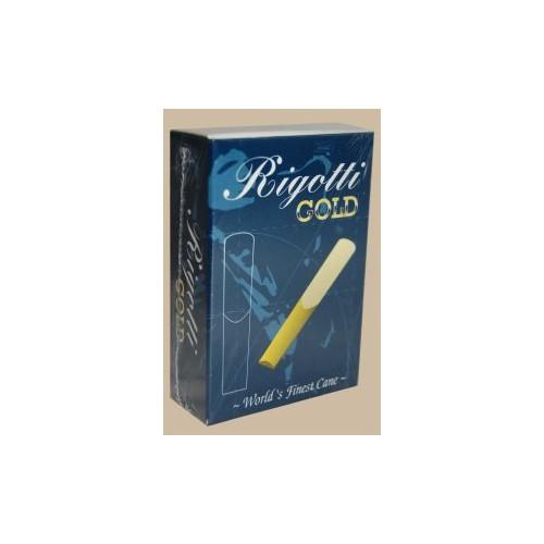 Rigotti Gold Jazz Baritone Saxophone Reed, Strength 2.5, Box of 10