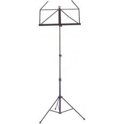 Collapsible Black Music Stand in 3 parts with Nomad Cover