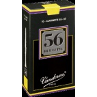Vandoren 56 Rue Lepic Bb Clarinet Reed, Strength 2.5, Box of 10
