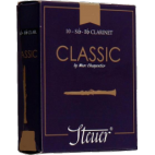 Steuer Classic Bb Clarinet Reed, Strength 3.5, Box of 10