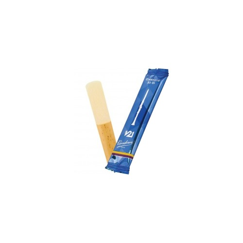 Vandoren V21 Bb Clarinet Reed, Strength 2.5