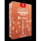 Marca Premium Cut Bb Clarinet Reed, Strength 3.5, Box of 10