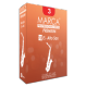 Marca Premium Cut Alto Saxophone Reed, Strength 3.5, Box of 10