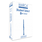 Marca Student Cut Bb Clarinet Reed select Strength 2, Box of 10