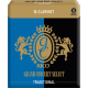 Rico Grand Concert Select Bb Clarinet Reed, Strength 2.5, Box of 10