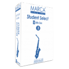 Marca Student Cut Alto Saxophone Reed select Strength 2.5, Box of 10