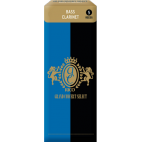 Rico Grand Concert Select Bass Clarinet Reed, Strength 2.5, Box of 5
