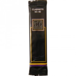 Vandoren 56 Rue Lepic Bb Clarinet Reed, Strength 3.5+