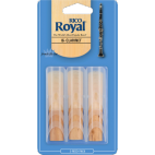 Rico Royal Bb Clarinet Reed, Strength 1.5, Box of 3