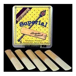 Alexander Superial Bb Clarinet Reed Strength 2, Box of 10