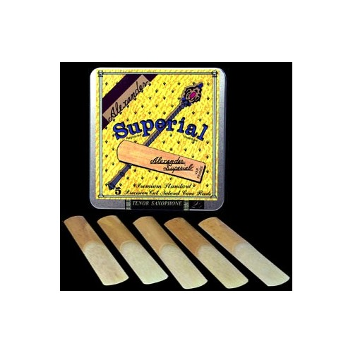 Alexander Superial Alto Saxophone Reed Strength 2, Box of 5