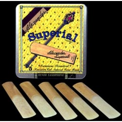 Alexander Superial Soprano Saxophone Reed Strength 2.5, Box of 10