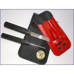 Kit outils Hautbois Rigotti mandrin plaque billot couteau
