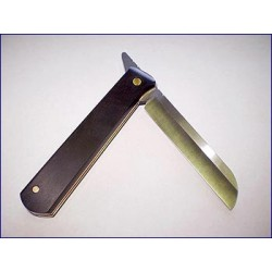 Rigotti Double Blade Carbon Steel Knife, Folding Razor Style