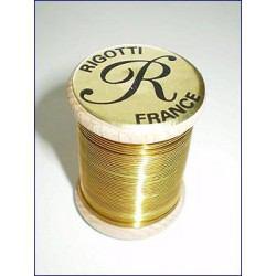 Rigotti Bassoon Reed Wire, Brass, 0.6mm Diameter