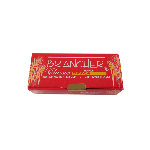 Brancher Classic Opera Alto Saxophone Reed, Strength 1.5 x6