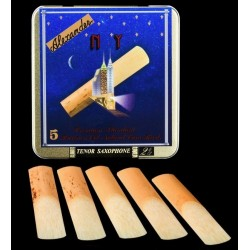 Alexander NY Tenor Saxophone Reed, Strength 2.5, Box of 5